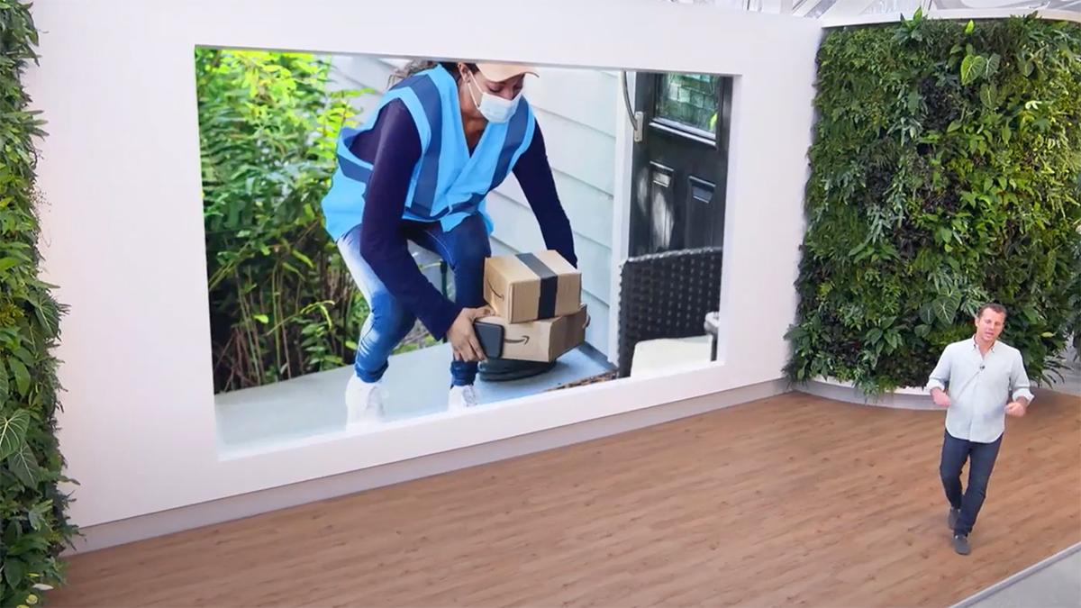 Amazon's Ring Doorbell Will Alert You When Packages Arrive