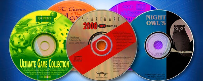 The Golden Age of Shareware CDs