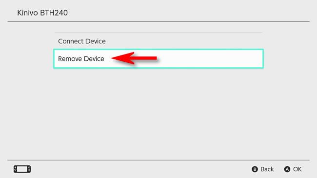 "Select ""Remove Device."""