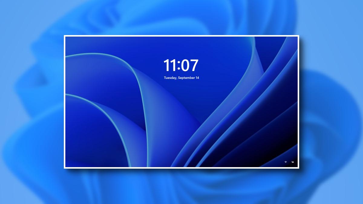Windows 11 Kilit Ekranı