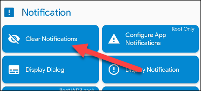 """Choose """"Clear Notifications."""""""