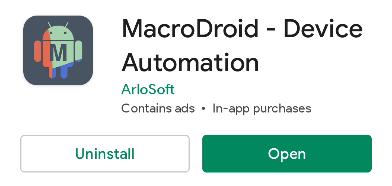 Install MacroDroid.