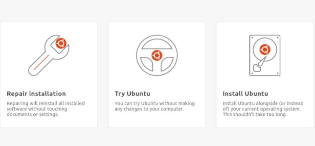 The new Ubuntu Flutter-based installer