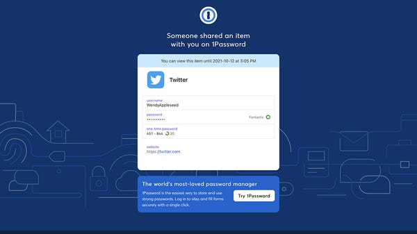 You Can Now Safely Share Passwords With 1Password