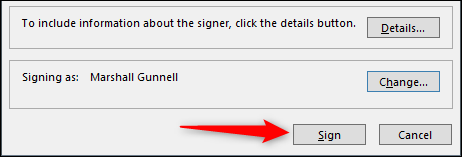 Assine com sua assinatura digital.