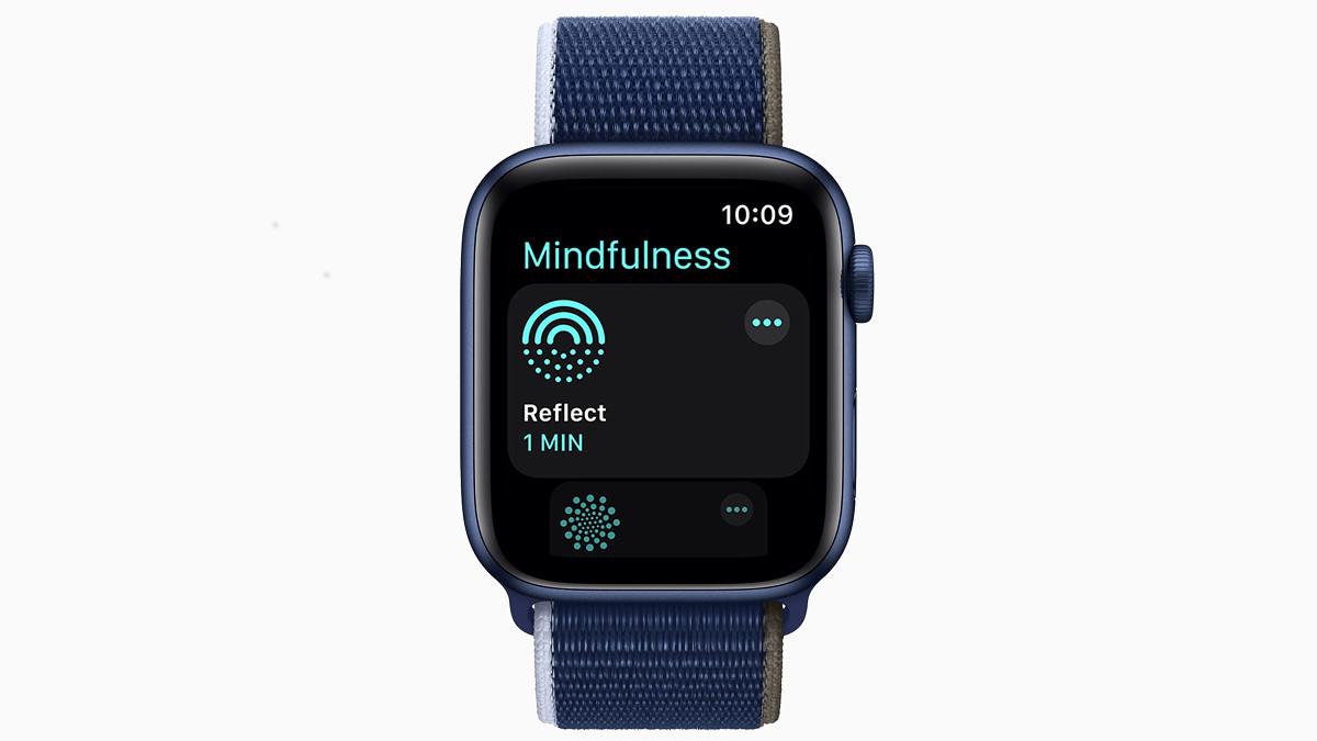 Apple Watch Mindfulness app (watchOS 8)
