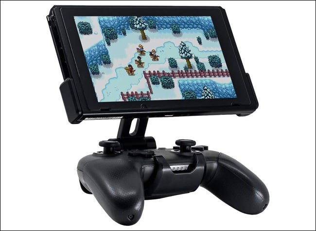 Fixture S1 controller mount for Nintendo Switch