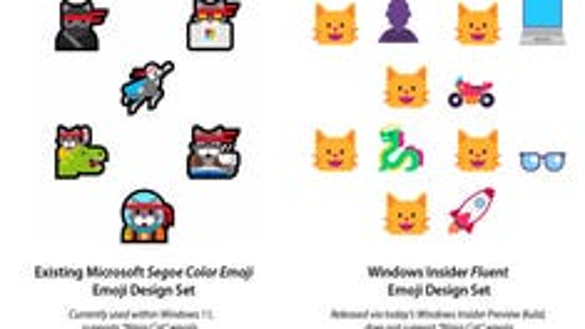 Microsoft Removes Ninjacat Emoji From Windows 11