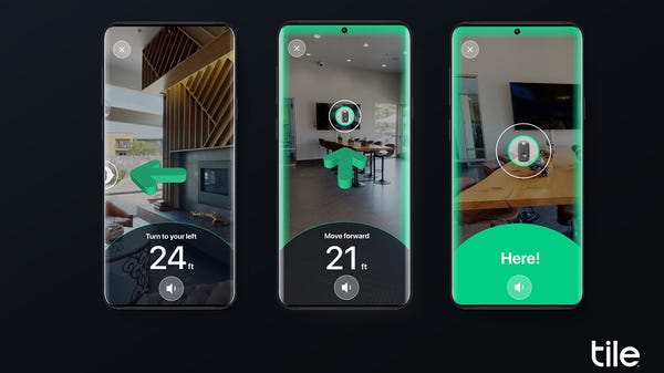 The Tile Ultra Tracker Finds Your Stuff in Augmented Reality