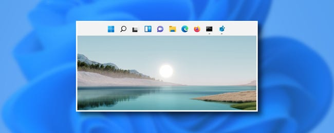 How to Move Windows 11's Taskbar to the Top of the Screen