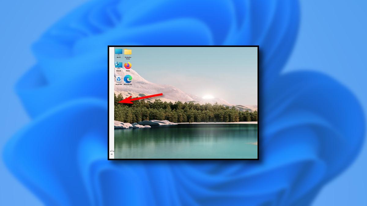 Windows 11 Taskbar on the Left but Broken