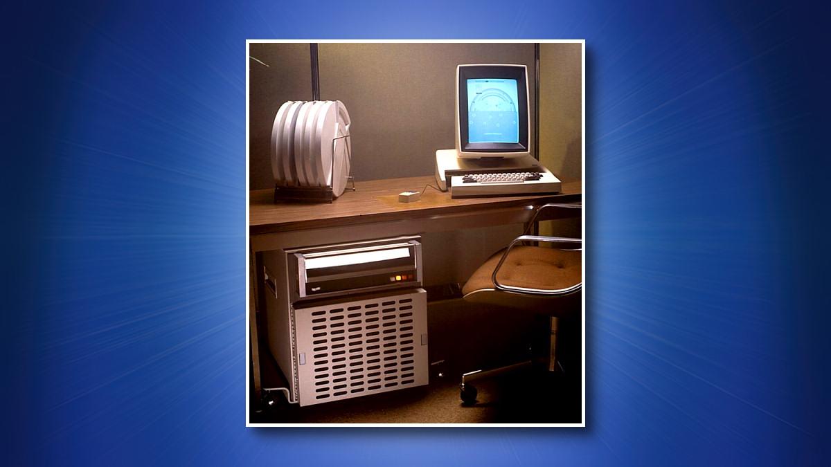 A Photo of a Xerox Alto Computer