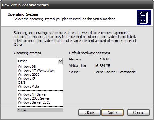 Add A Virtual PC To XP (Part 1)