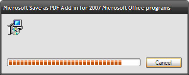 microsoft save as pdf or xps add-in for 2007 microsoft office programs