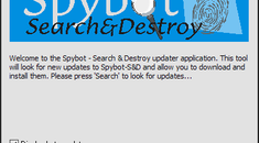 A look at Spybot Search and Destroy 1.5