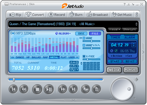 Download jet audio plus media player for pc for free (Windows)