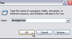 Roll Back Device Driver In XP