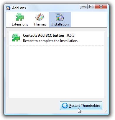BCC (Blind Carbon Copy) In Mozilla Thunderbird