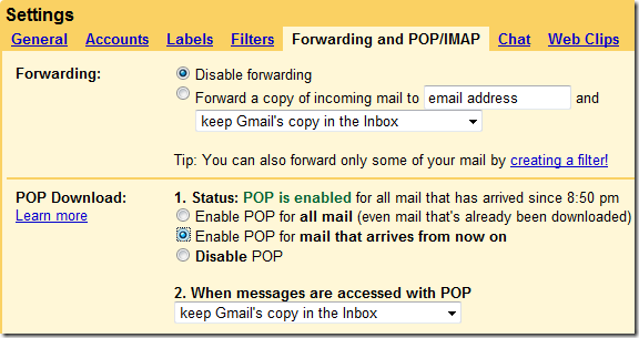 Add Your Gmail To Windows Live Mail