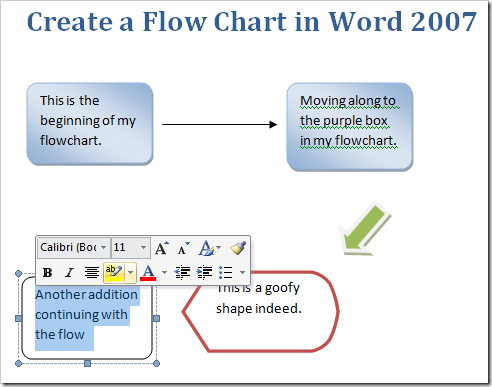 Create A Flow Chart In Word 2007 – How to Make a Chart in Word