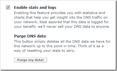 stats and logs