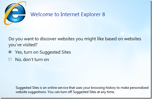 Discover Sites