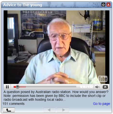 old man advice