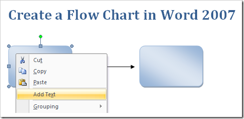 Create a flow chart in word 2007 1 ccuart Choice Image
