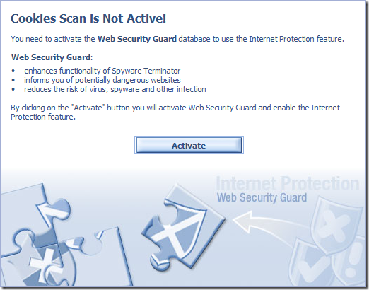 web security guar alert