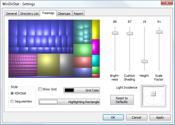 Analyze and Manage Hard Drive Space with WinDirStat - Tips