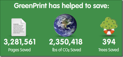 saved greenery