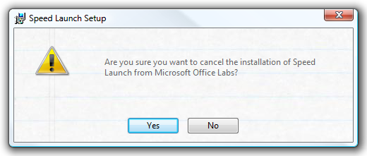 cancel install
