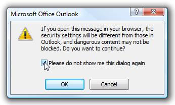 Security Dialog