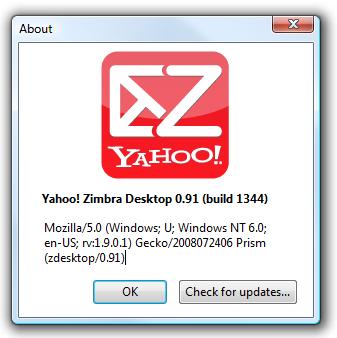 Geek Review: Get Web Email Offline With Yahoo Zimbra Desktop