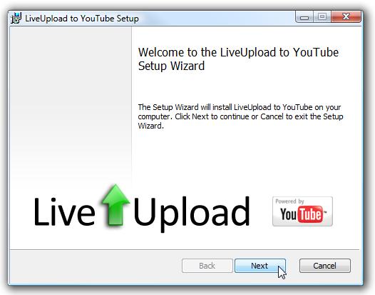 live utube plugin