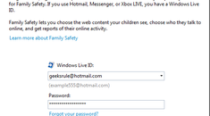 Help Protect Your Children with Windows Live Family Safety Filter