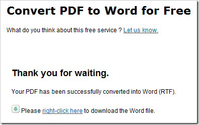 PDF to Word for Free