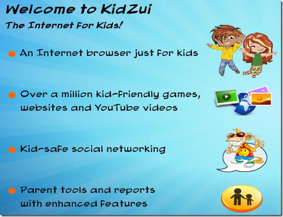 Kidzui Welcome