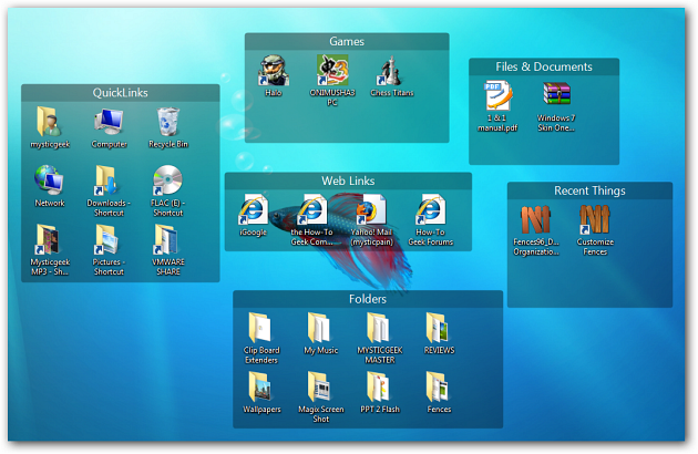 Organize Your Messy Desktop With Stardock S Fences