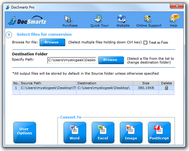 other file convert to pdf