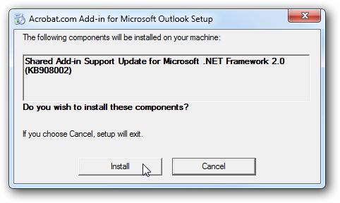 Install - addin support