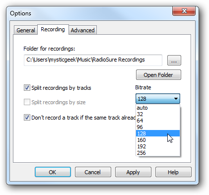Listen and Record Over 12,000 Online Radio Stations with RadioSure