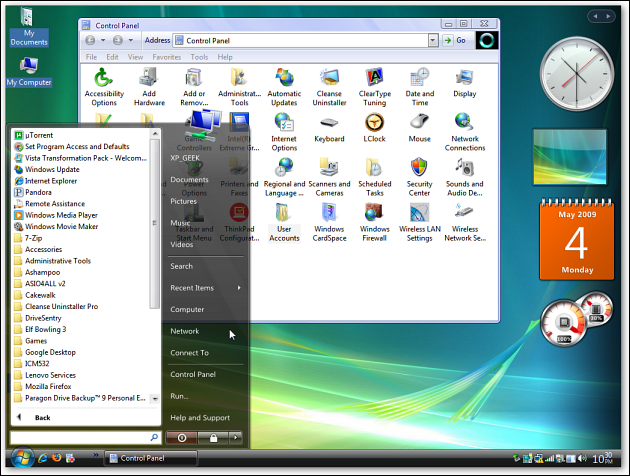 Desktop shot 1