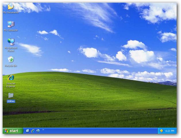 regular desktop