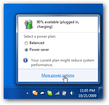 Disable Power Management on Windows 7 or Vista