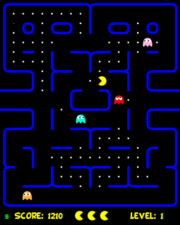 pacman browsergame