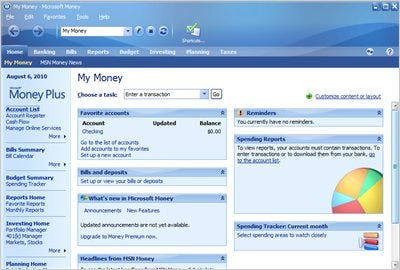 microsoft money plus is now available for free