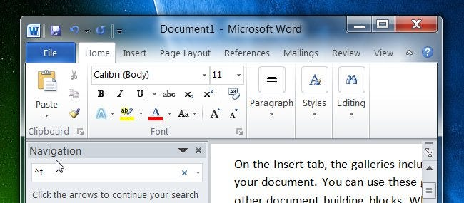 how to search for line breaks tabs and special characters in ms word rh howtogeek com