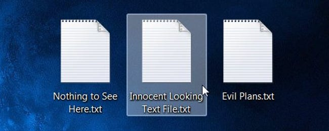 How to Hide Data in a Secret Text File Compartment