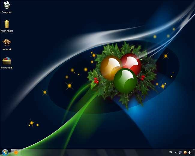 Add a Colorful Christmas Theme to Your Windows 7 Desktop